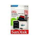 Карта памяти Sandisk microSDHC 16GB Class 10